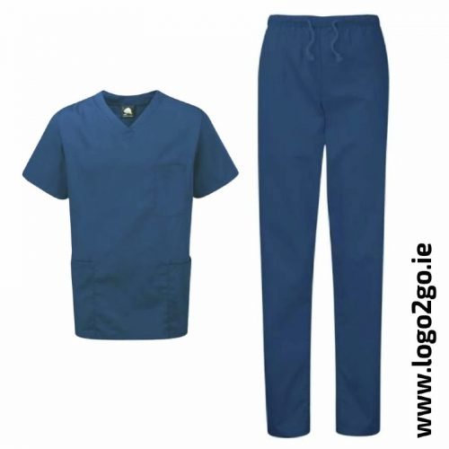 scrubs set navy